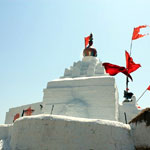 The Temple on Top of the Hill is Birth Place of Hanuman