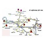 Ashtavinayak Map