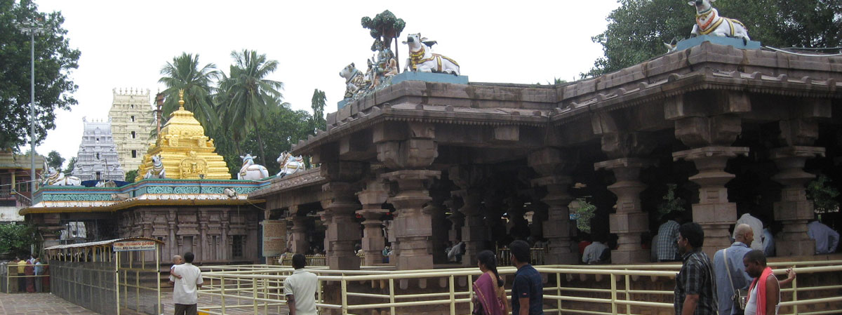 Mallikarjunaswamy Temple Srisailam - FAMOUS TEMPLES IN INDIA
