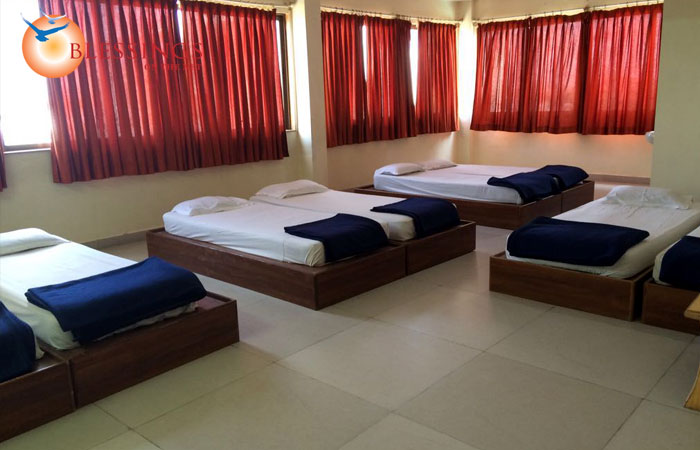 Eight Bedded  Non AC Rooms