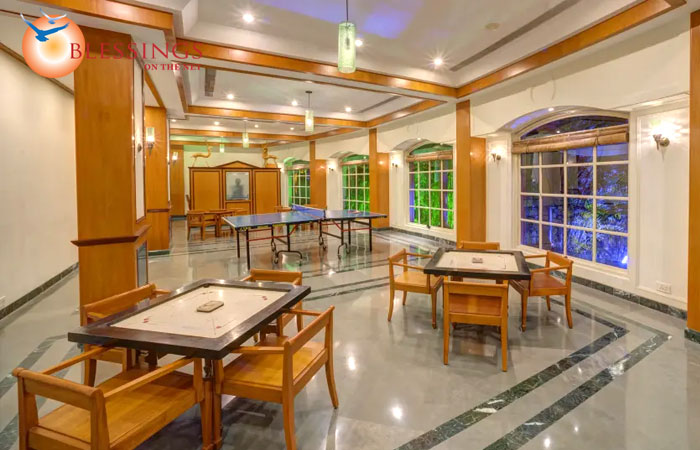 Games room at Renest Shirdi