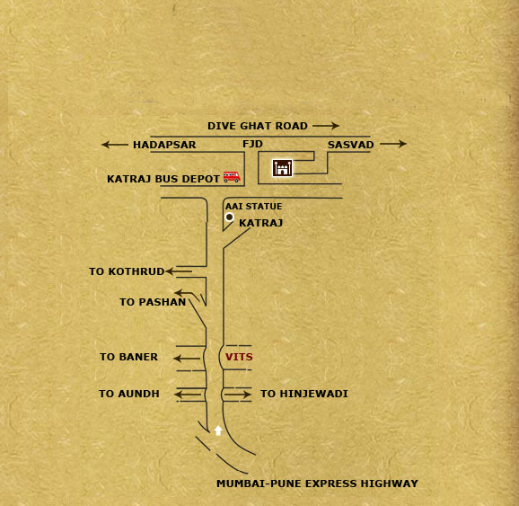 Fort Jadhavgadh Road Map from  Mumbai