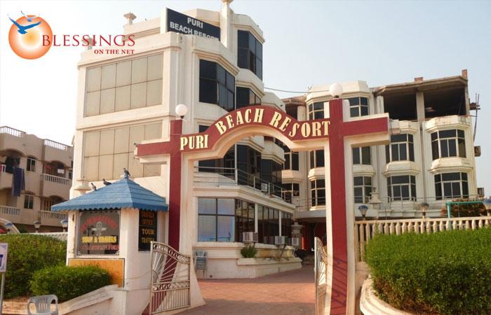 Puri Beach Resort Contact