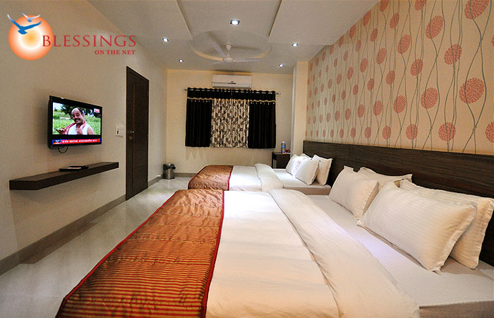 Four Bed A.C Room