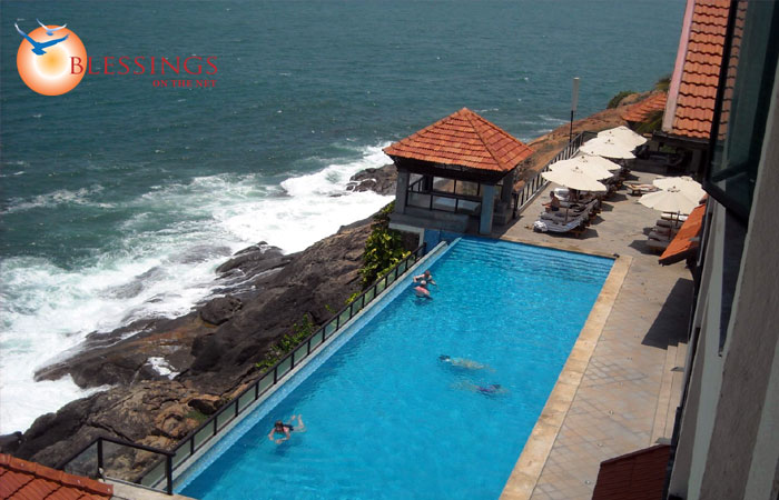 The Leela Kovalam Beach