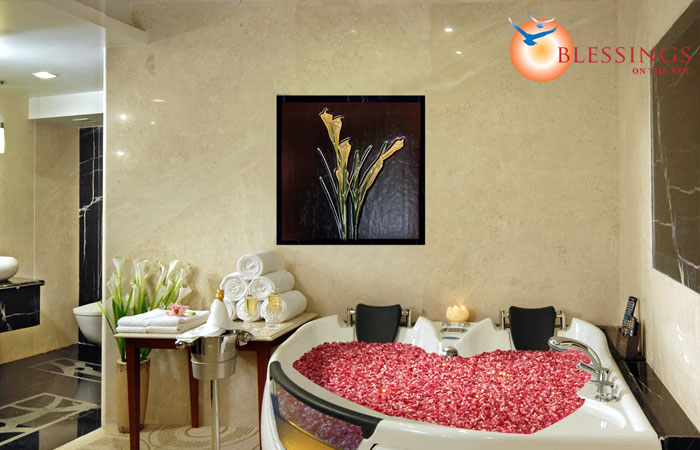 Amrutha castle bathroom decor