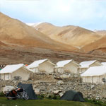 Camp Redstart Pangong