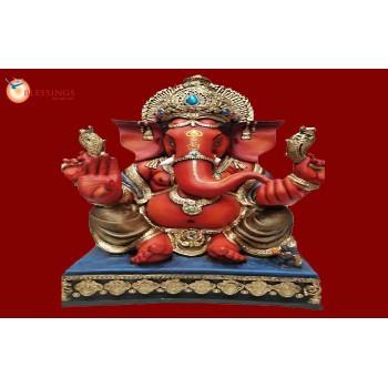 Ganesha Red Gold 30263