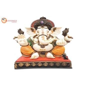 Ganesha Ivory Tc 30163