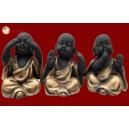 Gandhiji Monk Golden 30244