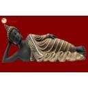 Sleeping Buddha Black Gold 30188