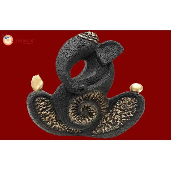 Ganesha-Black-Gold
